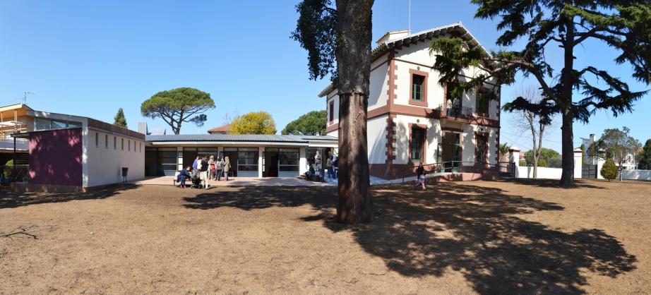 Instalaciones Centro de Formación Can Lletres en Llinars del Vallès