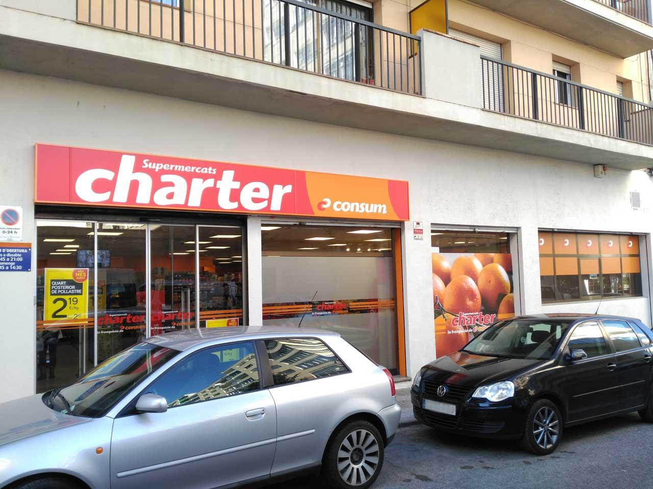 Supermercado Consum Charter en Granollers